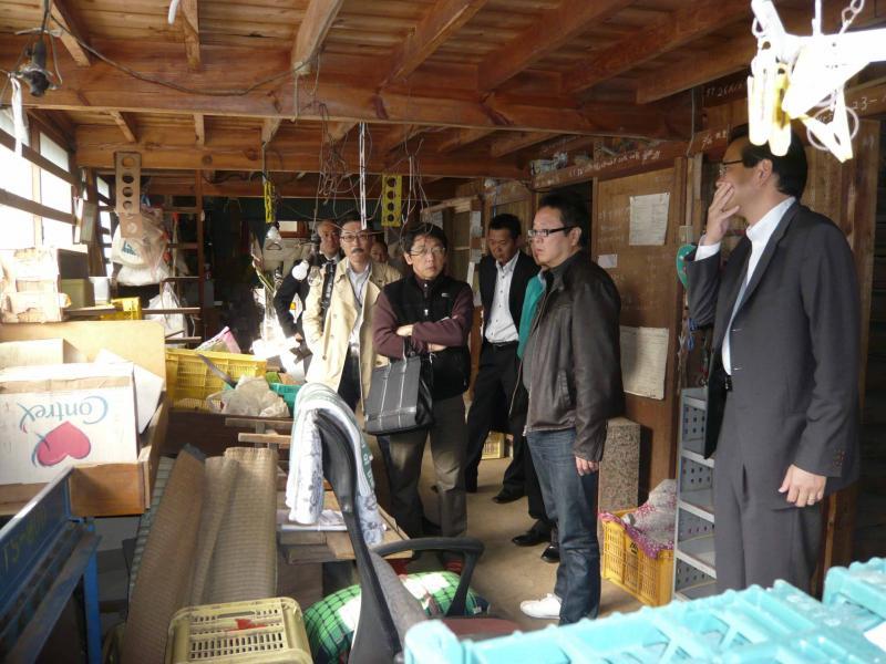 片浦地区の特徴的な風景の1つ、みかんの貯蔵小屋を初公開!